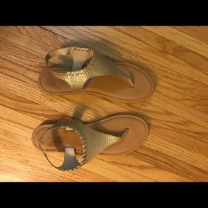 Good sperry sandals, size 8